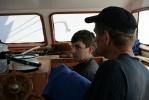 «Петр I» не рискует выйти из Риги: Фоторепортаж