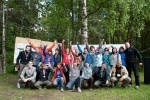 В Тарховском лесопарке «Монстры» лазали по веревкам: Фоторепортаж