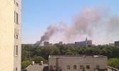 В Москве горит ЦКБ «Алмаз»: Фоторепортаж