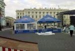 В преддверии «Алых парусов» на Дворцовой поставили пивной шатер: Фоторепортаж