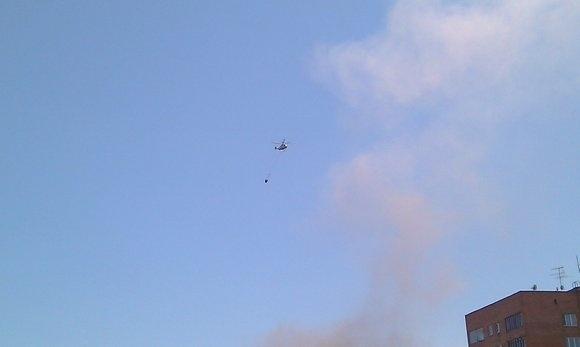 В Москве горит ЦКБ «Алмаз»: Фото