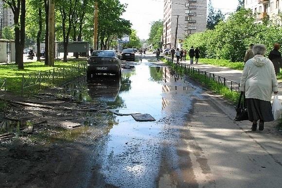 В Петербурге разучились делать тротуары: Фото