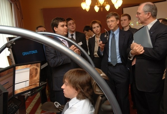 Как Алексей Косик поразил Билла Гейтса: Фото