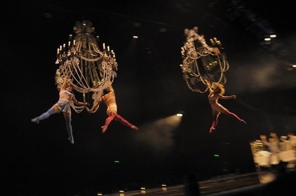 «Цирк дю Солей» приехал в Петербург: Фото