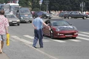 «Партизан» по-кавказски: Водитель «семерки» сломал нос гаишнику