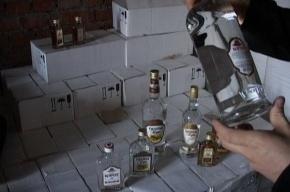 В Петербурге нашли склад с «паленым» алкоголем