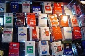 Табачные изделия стоимостью 1,2 миллиона рублей похищены в Петербурге