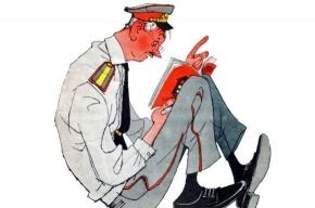 Милиционер поплатился за проезд на красный