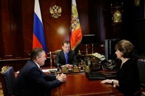 Медведев: Рособоронпоставка вообще не работала