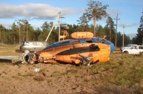 В Ленобласти разбился вертолет
