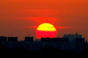 В Москве – рекордная жара