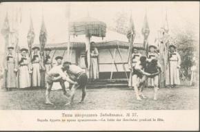 В ЦПКиО проходят игрища мужчин