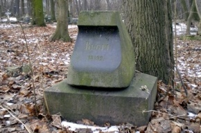 На Смоленском кладбище разгромлена могила директора Ботанического сада Регеля