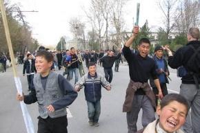 На юге Киргизии снова бунт и беспорядки