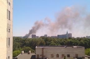 В Москве горит ЦКБ «Алмаз»