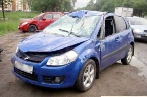 В ДТП на Красносельском шоссе пострадали несколько машин