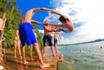 Фоторепортаж: «Пляжи, купание, жара»