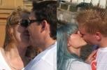 Влюбленные петербуржцы отметили Всемирный День Поцелуев: Фоторепортаж