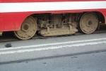 Фоторепортаж: «Жара расплавила прокладку под трамвайными рельсами (ФОТО)»