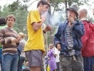 На Голубых озерах звучит музыка «Лампушки»: Фоторепортаж