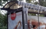 Фоторепортаж: «В жару хорошо охлаждает реклама»