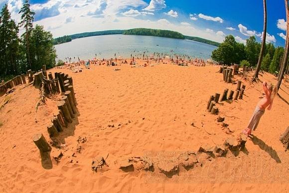 Пляжи, купание, жара: Фото