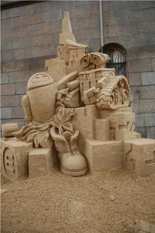 Победители фестиваля песчаных скульптур: «Идея сделать Саида из «Белого солнца пустыни», а рядом Губку Боба – пришла спонтанно» (фото): Фото