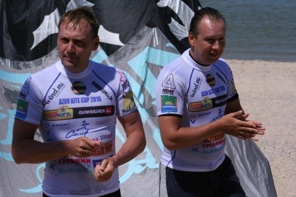 Петербуржец занял первое место среди любителей в соревнованиях по кайтингу: Фото