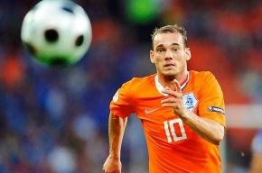 Автогол Мело в матче Бразилия – Голландия переписали на Снейдера
