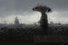 В Петербурге  сегодня ждут град, ливень и шквалистый ветер