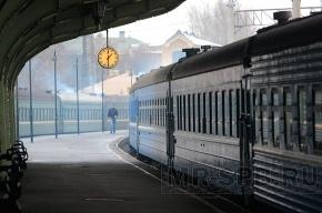 В Ленобласти поезд столкнулся с автомобилем