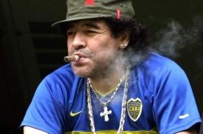 Марадона едва не подрался с немцами