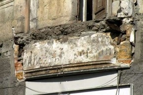 В Москве рухнул балкон