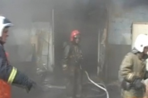 В Петербурге – крупный пожар