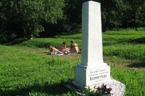 Братские могилы превращаются в пляж