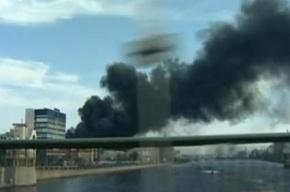 Пожар на «Мезоне» видел весь Петербург
