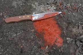 Родственники устроили  бой на ножах в Купчино