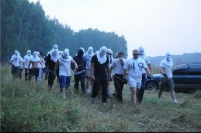 Химки: Экологов разогнал ОМОН. Задержано девять человек