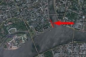 Сегодня на два часа перекроют Петроградскую набережную