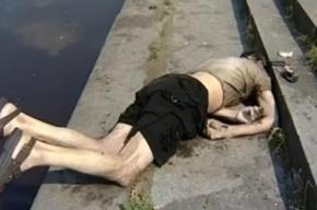 Мужчина утонул в Охте при загадочных обстоятельствах