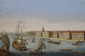 На Неве стартовал парад военных кораблей