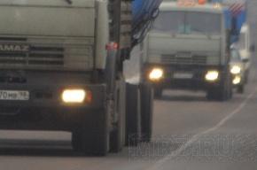 Лермонтовский проспект - круглосуточный проезд для грузовиков