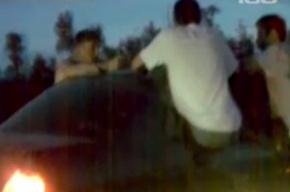Пассажиры устроили казино на колесах в пробке