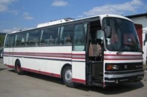 На Кубани загорелся автобус с пассажирами