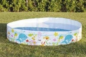 Трехлетняя девочка утонула в надувном бассейне