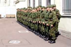 В армию отправились 4600 петербуржцев