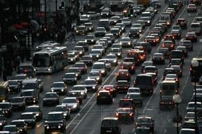 На Мурманском шоссе – огромная пробка