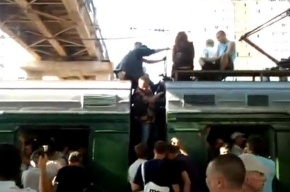 В Москве пробки не только для автомобилистов