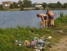 «Пляжный Дозор» наткнулся на мёртвую птицу: Фоторепортаж