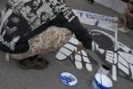 Граффитчики показали высокотехнологичные чудеса на Крестовском острове (фоторепортаж): Фоторепортаж